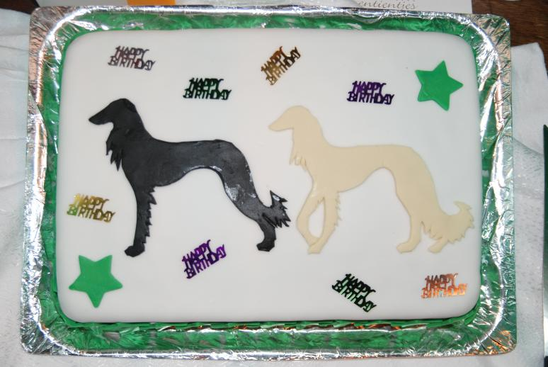 crufts birthday cake